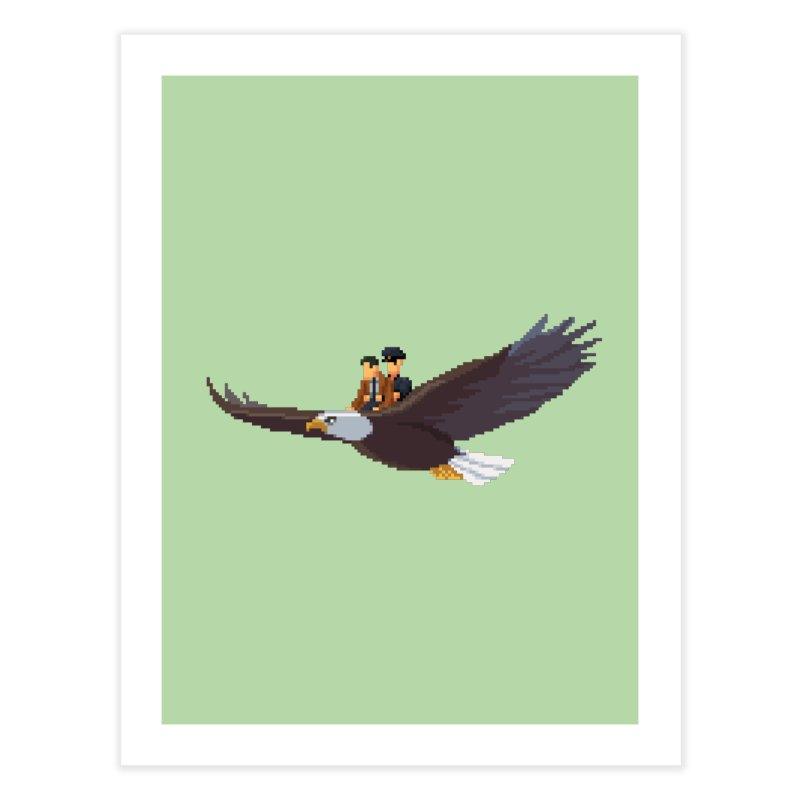 Detect From Above Home Fine Art Print by Spooky Doorway's Merch Shop