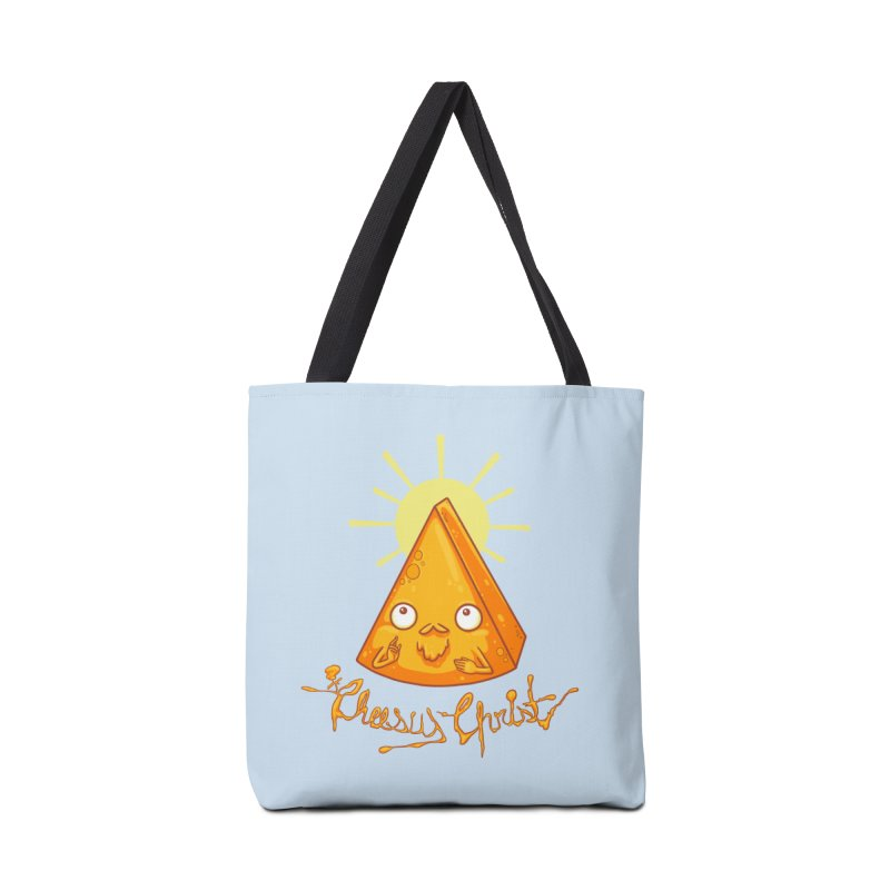 In Cheese We Trust Accessories Bag by spookylili