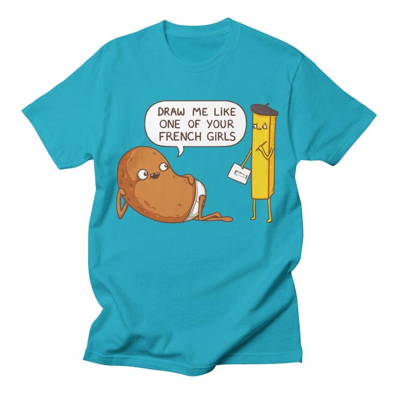 French Potato Men's T-Shirt by spookylili