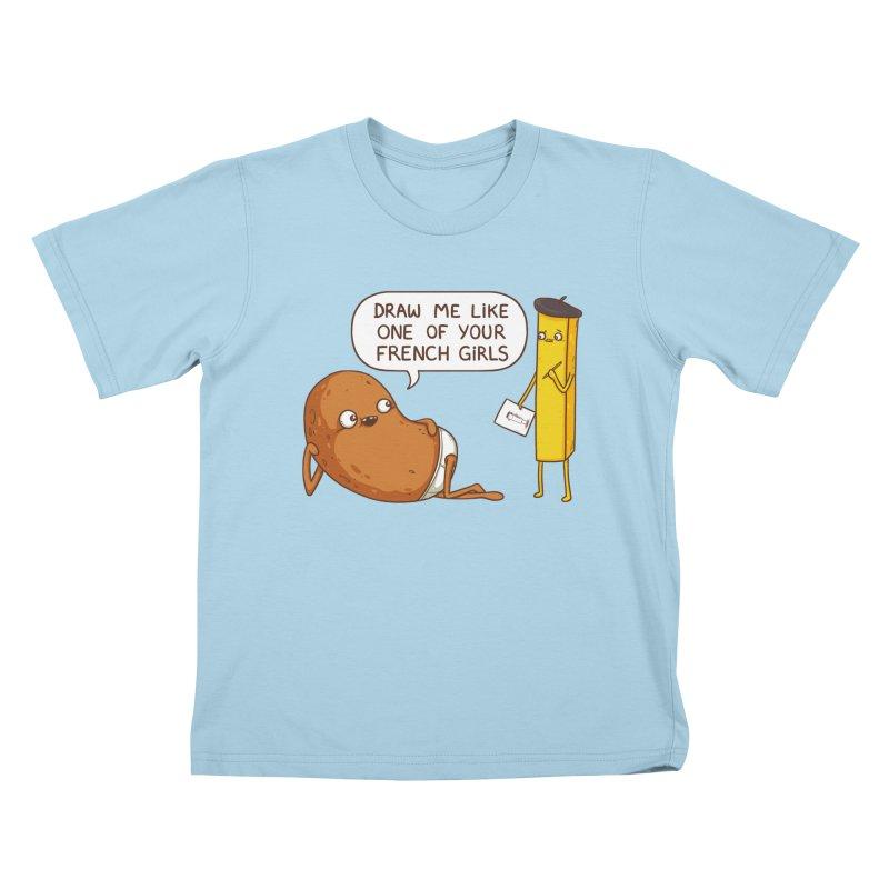 French Potato Kids T-Shirt by spookylili