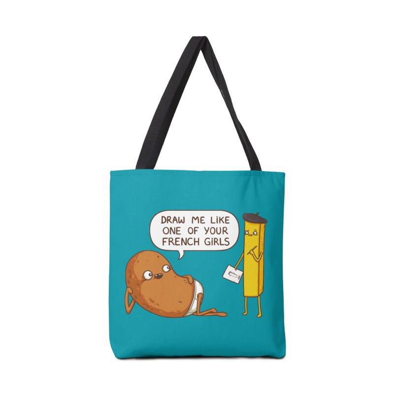 French Potato Accessories Bag by spookylili