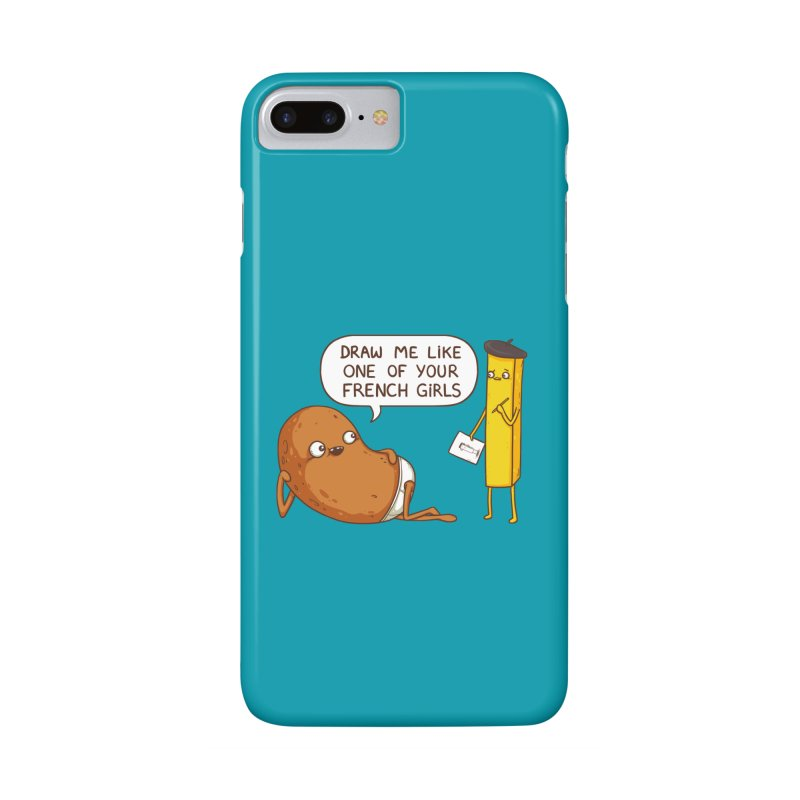 French Potato Accessories Phone Case by spookylili