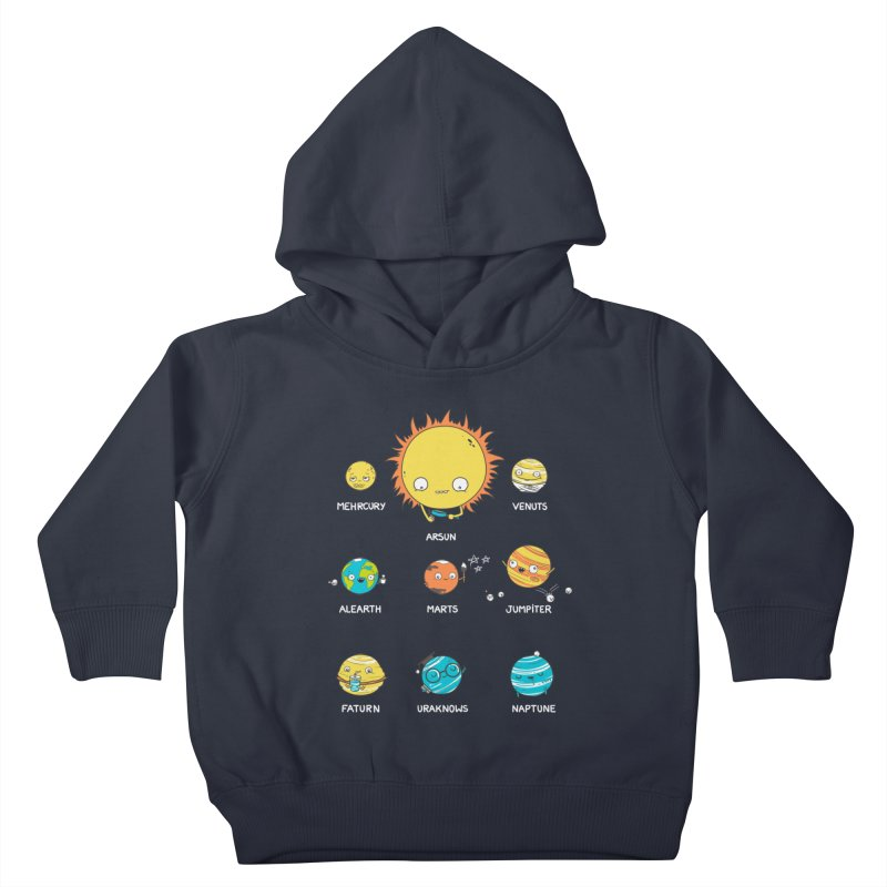 A Big Crazy Family Kids Toddler Pullover Hoody by spookylili