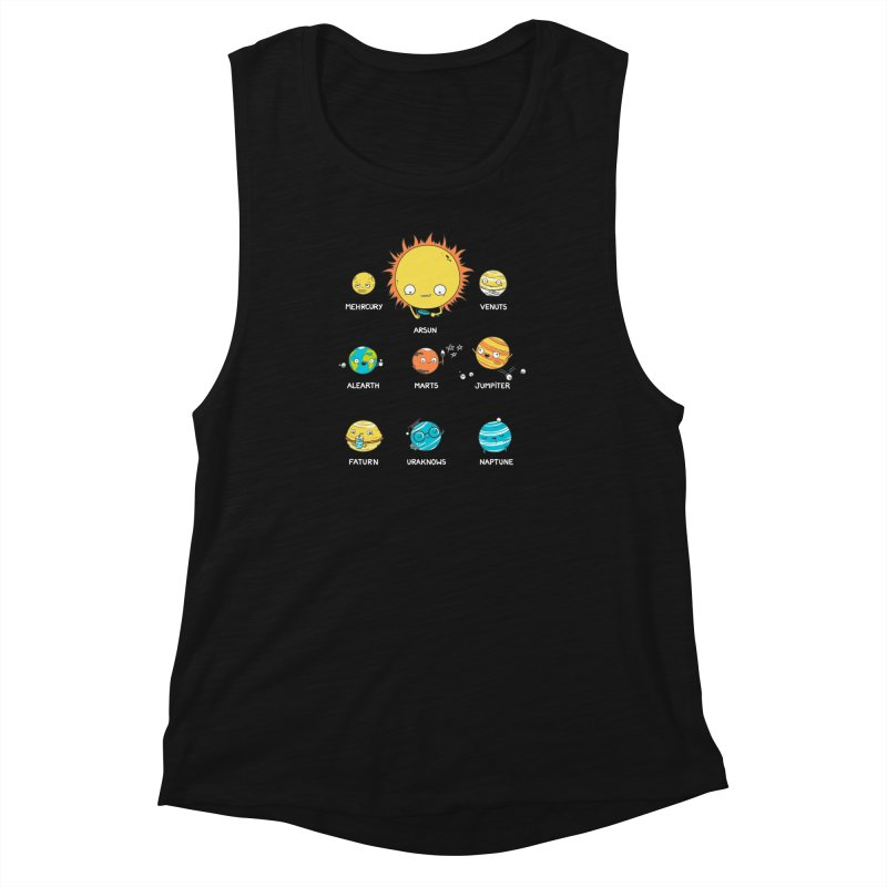 A Big Crazy Family Women's Muscle Tank by spookylili