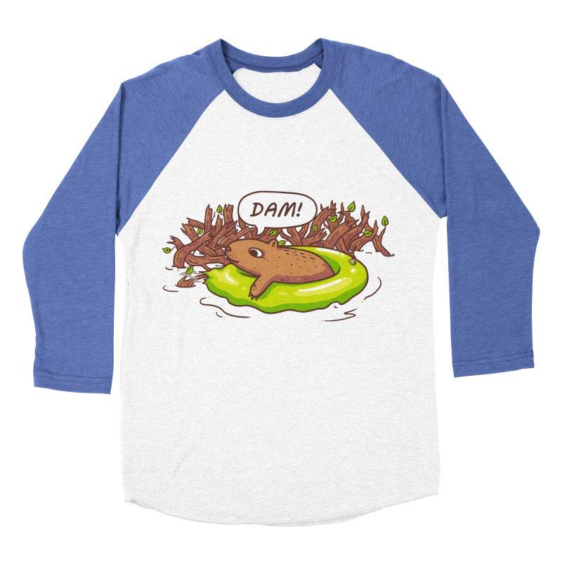 Dam! Women's Baseball Triblend Longsleeve T-Shirt by spookylili