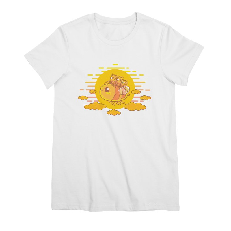 Bee Ride Women's Premium T-Shirt by spookylili