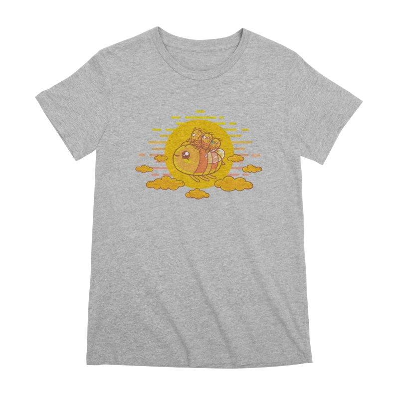 Bee Ride Women's Premium T-Shirt by spookylili