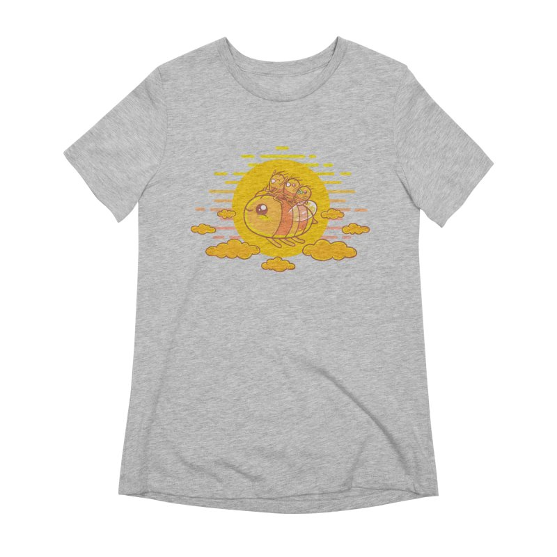 Bee Ride Women's Extra Soft T-Shirt by spookylili