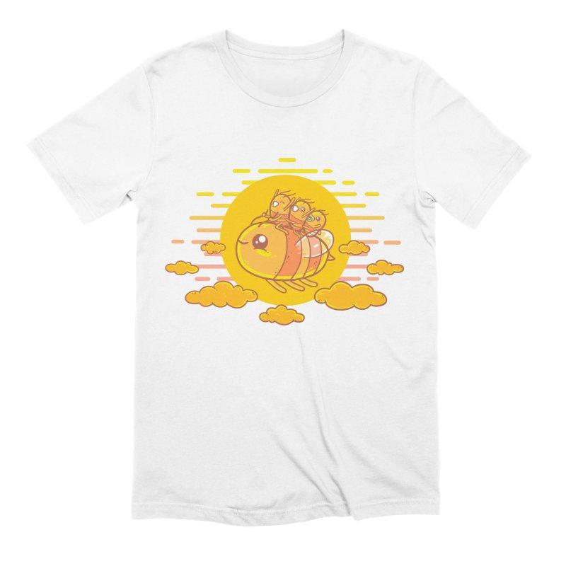 Bee Ride Men's T-Shirt by spookylili