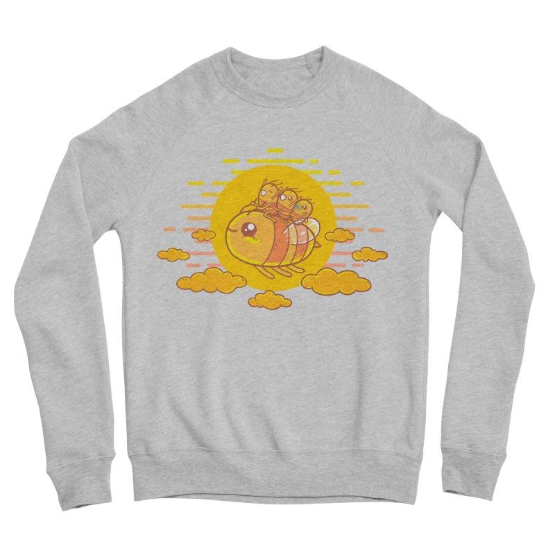 Bee Ride Women's Sponge Fleece Sweatshirt by spookylili