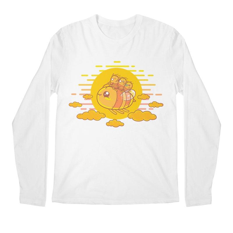 Bee Ride Men's Longsleeve T-Shirt by spookylili