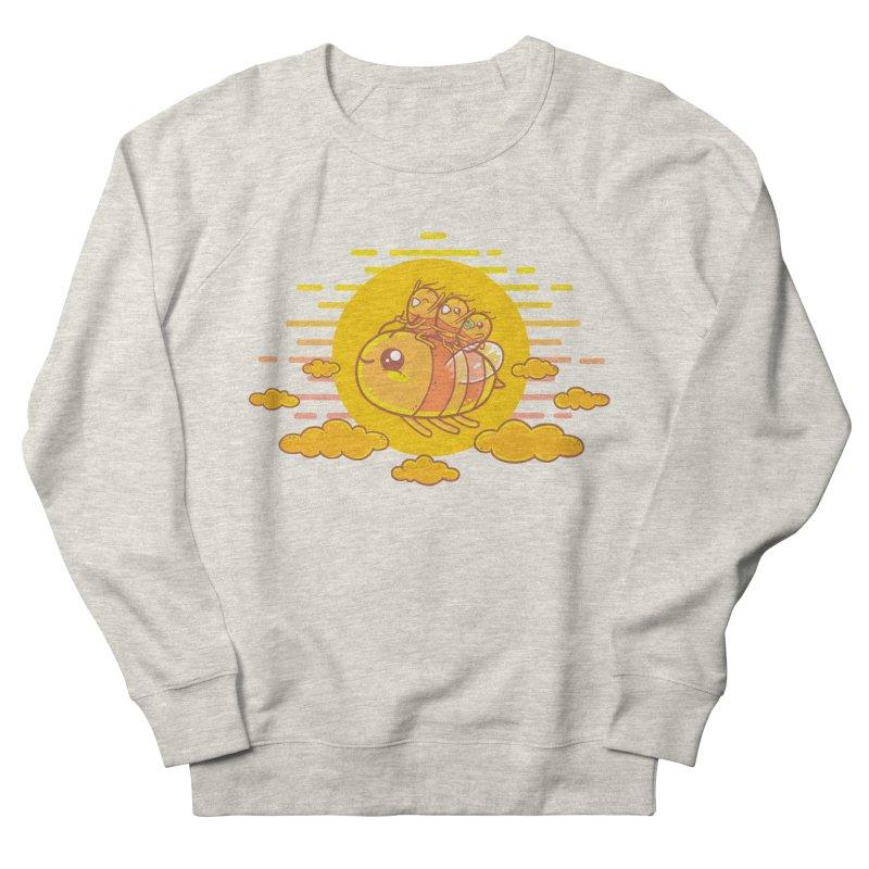 Bee Ride Men's Sweatshirt by spookylili