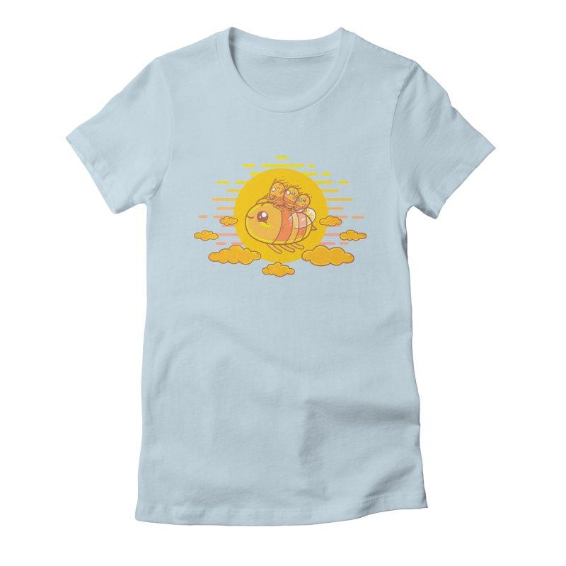 Bee Ride Women's T-Shirt by spookylili