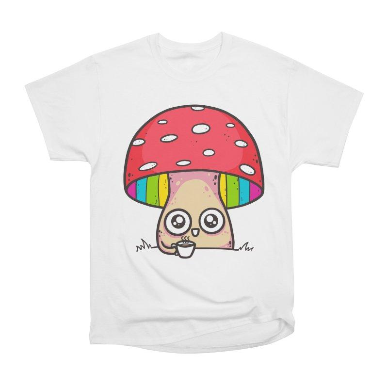 Tea Time Men's Heavyweight T-Shirt by spookylili