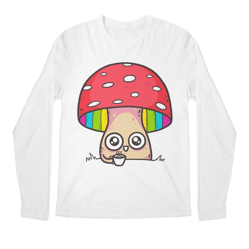 Tea Time Men's Regular Longsleeve T-Shirt by spookylili