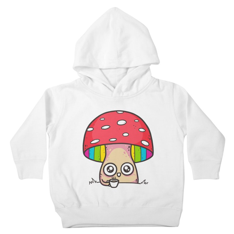 Tea Time Kids Toddler Pullover Hoody by spookylili