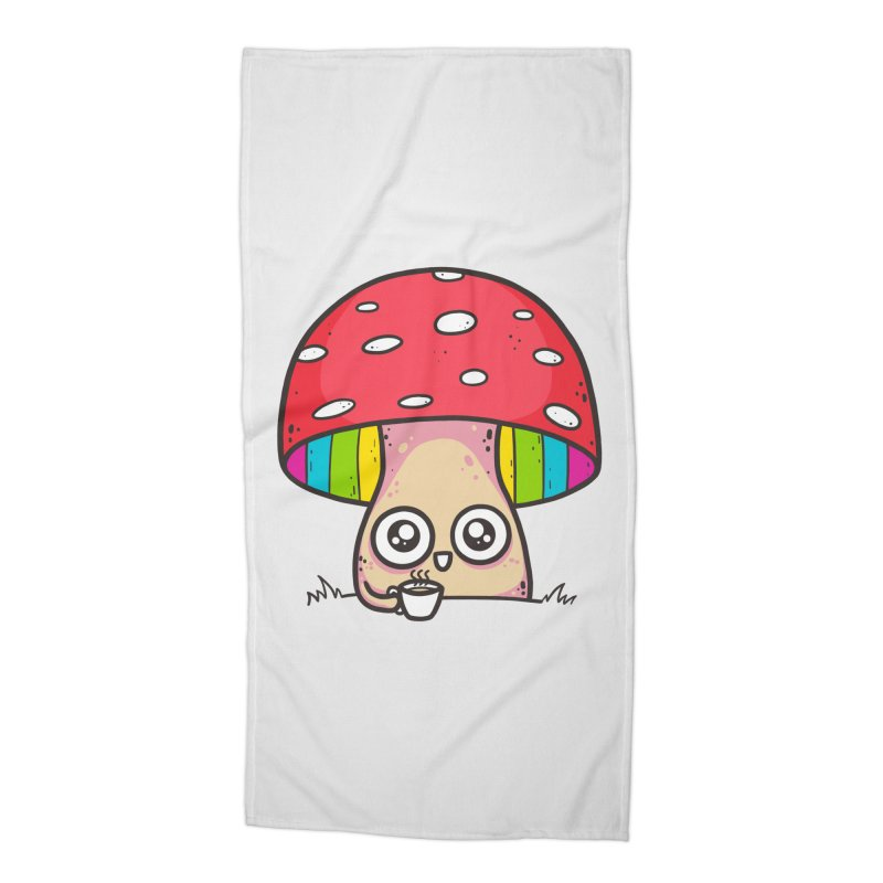 Tea Time Accessories Beach Towel by spookylili