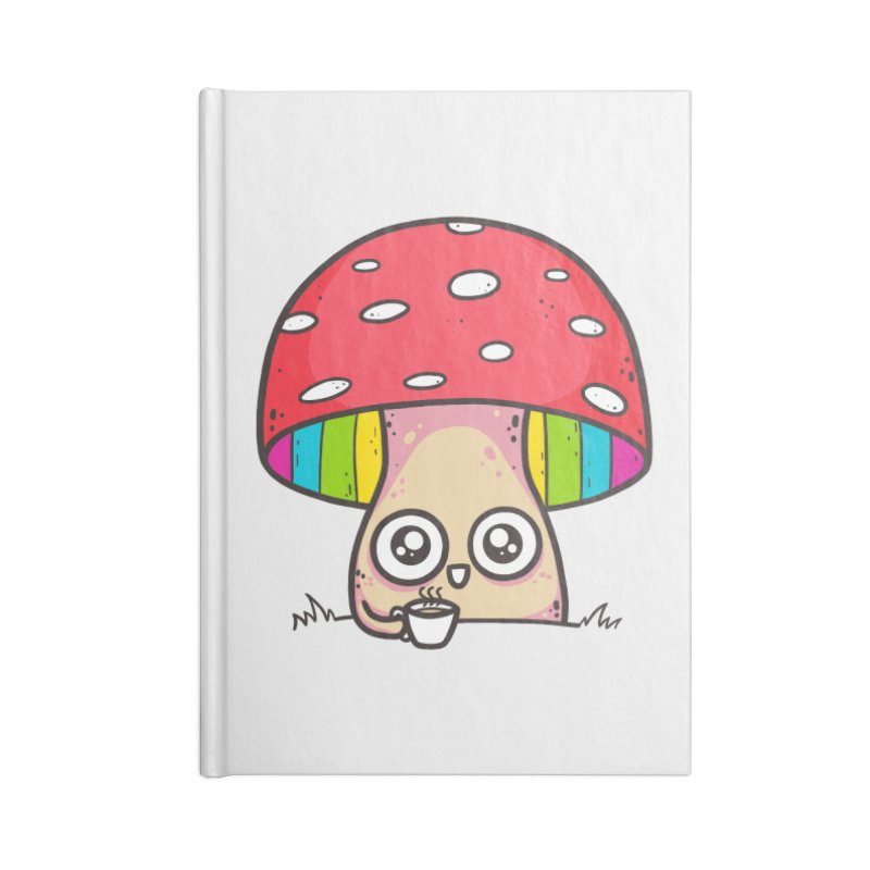 Tea Time Accessories Blank Journal Notebook by spookylili