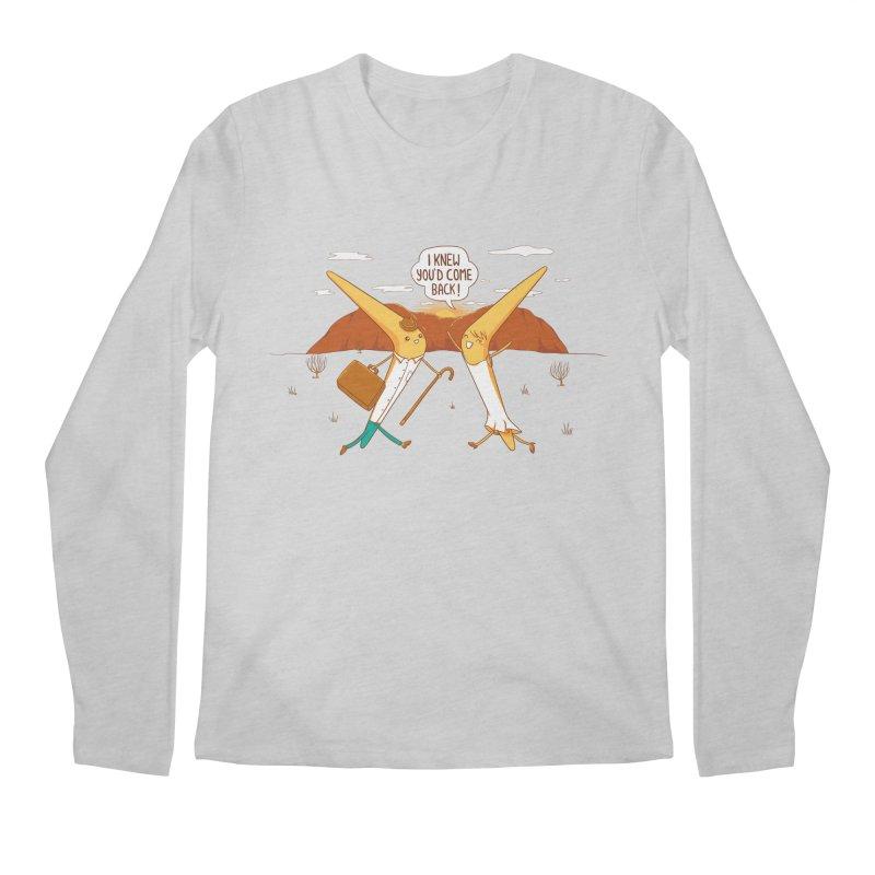Classic Love Story Men's Regular Longsleeve T-Shirt by spookylili