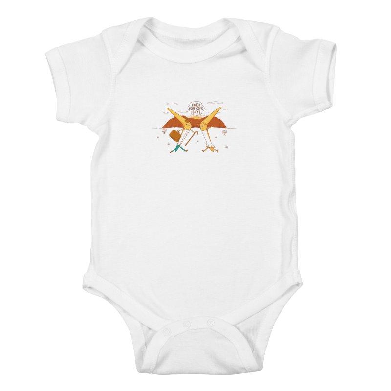 Classic Love Story Kids Baby Bodysuit by spookylili