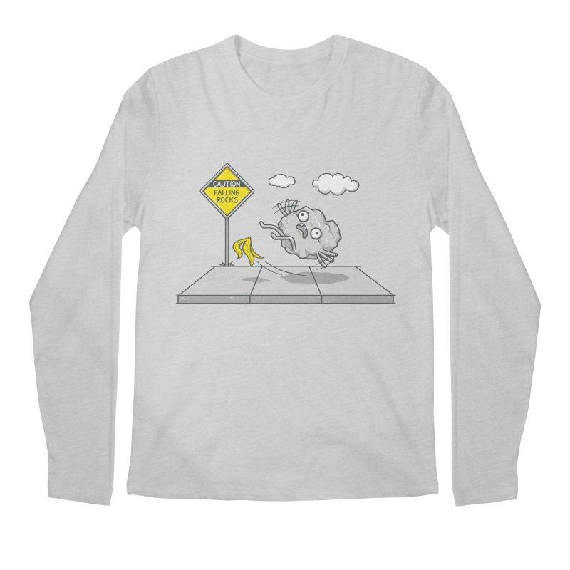 Rocky Road Men's Regular Longsleeve T-Shirt by spookylili