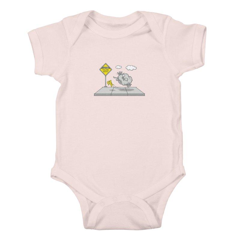 Rocky Road Kids Baby Bodysuit by spookylili