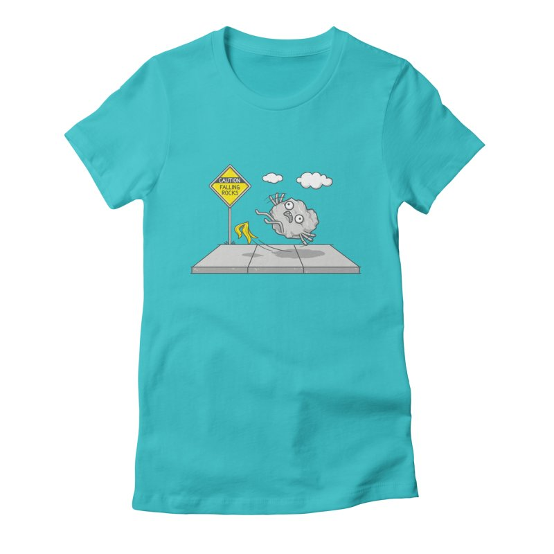 Rocky Road Women's Fitted T-Shirt by spookylili