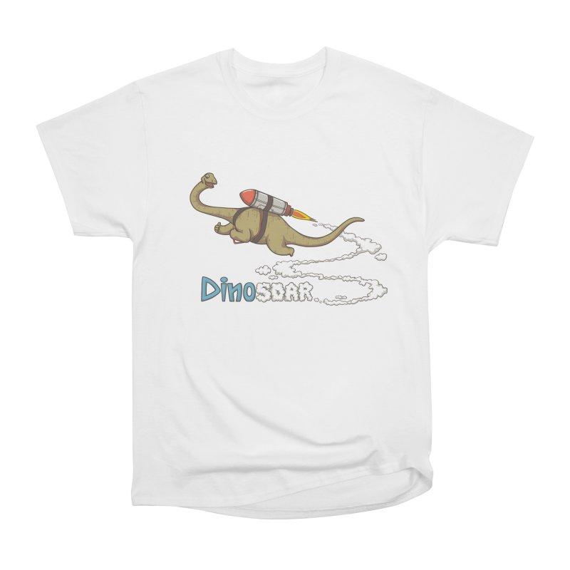 Dinosoar Men's Heavyweight T-Shirt by spookylili