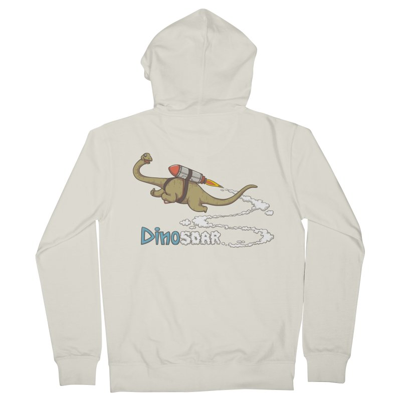 Dinosoar Women's French Terry Zip-Up Hoody by spookylili