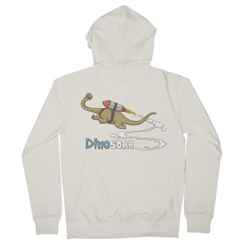 Dinosoar Men's Zip-Up Hoody by spookylili