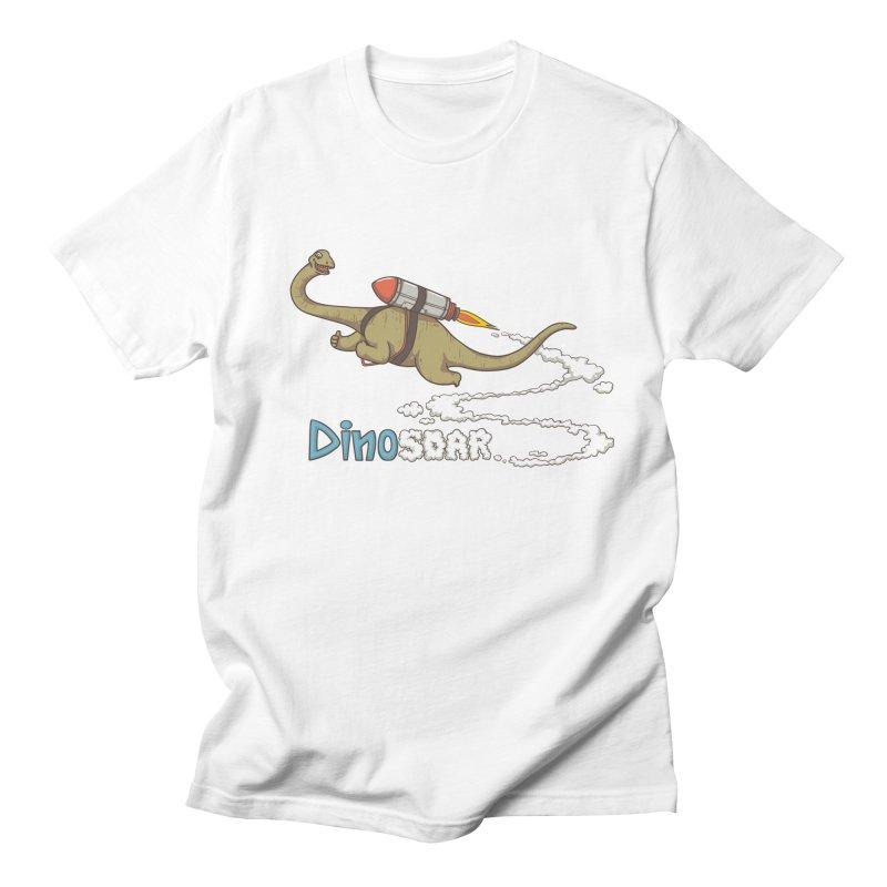 Dinosoar Men's Regular T-Shirt by spookylili