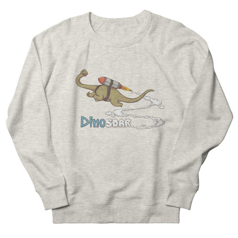 Dinosoar Men's Sweatshirt by spookylili