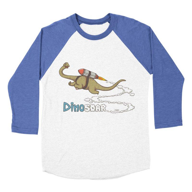 Dinosoar Women's Baseball Triblend T-Shirt by spookylili