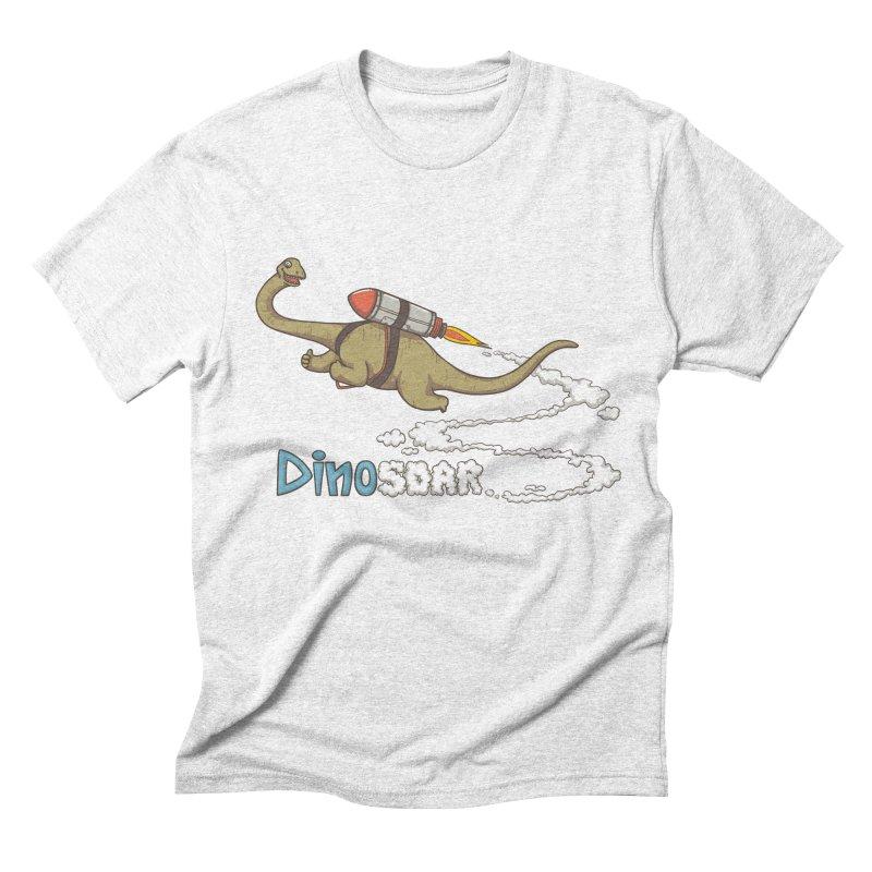 Dinosoar Men's Triblend T-shirt by spookylili