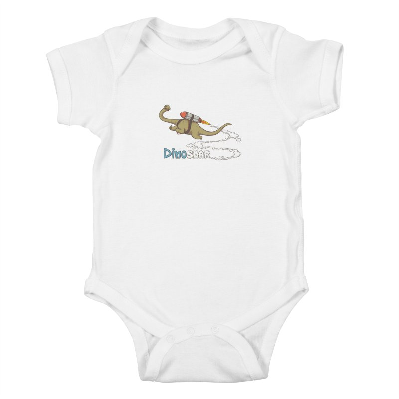 Dinosoar Kids Baby Bodysuit by spookylili