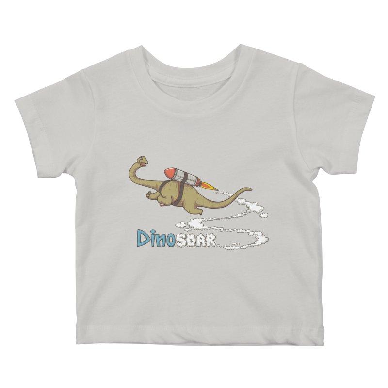 Dinosoar Kids Baby T-Shirt by spookylili