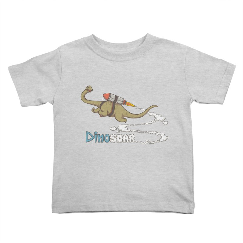 Dinosoar Kids Toddler T-Shirt by spookylili