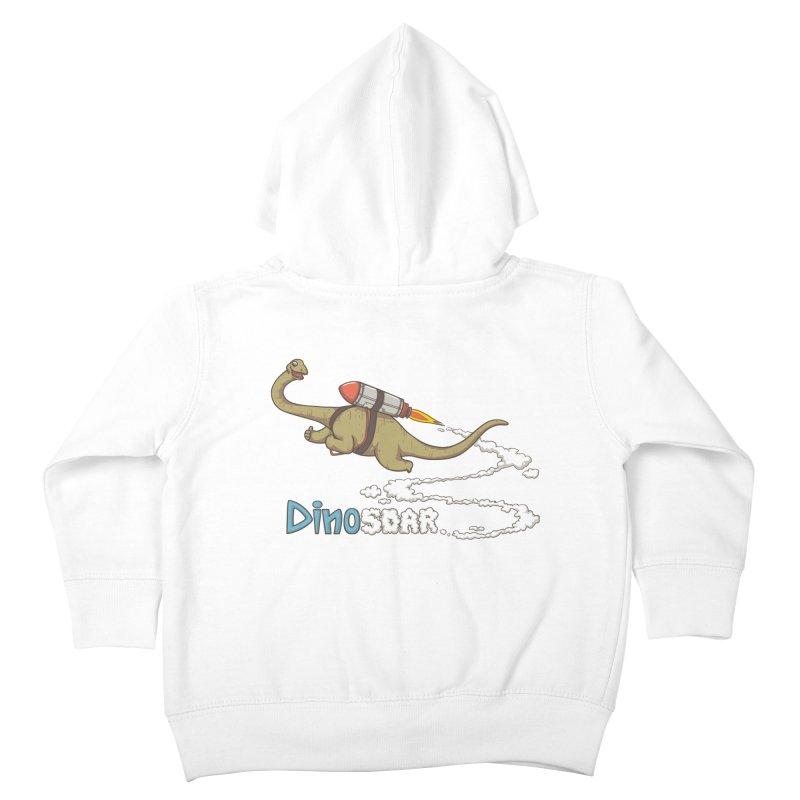 Dinosoar Kids Toddler Zip-Up Hoody by spookylili