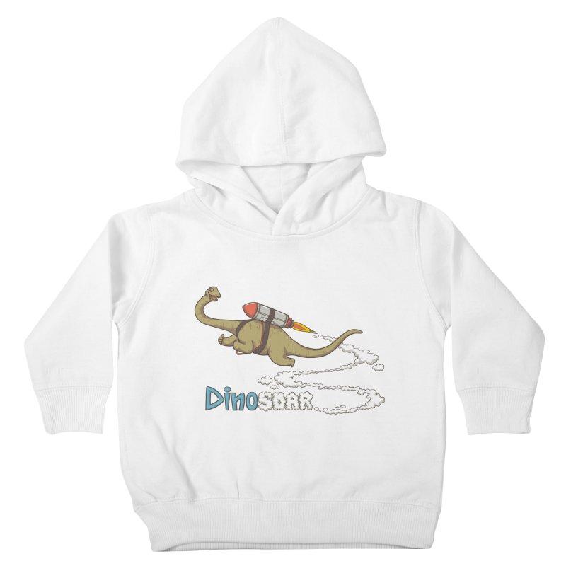 Dinosoar Kids Toddler Pullover Hoody by spookylili