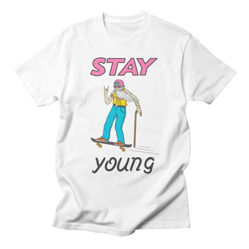 Always Board Men's T-Shirt by spookylili