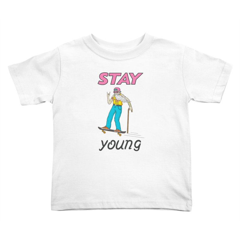 Always Board Kids Toddler T-Shirt by spookylili