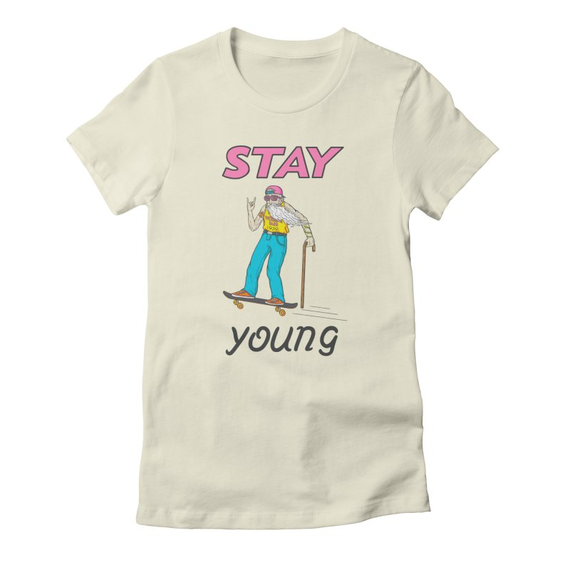 Always Board Women's T-Shirt by spookylili