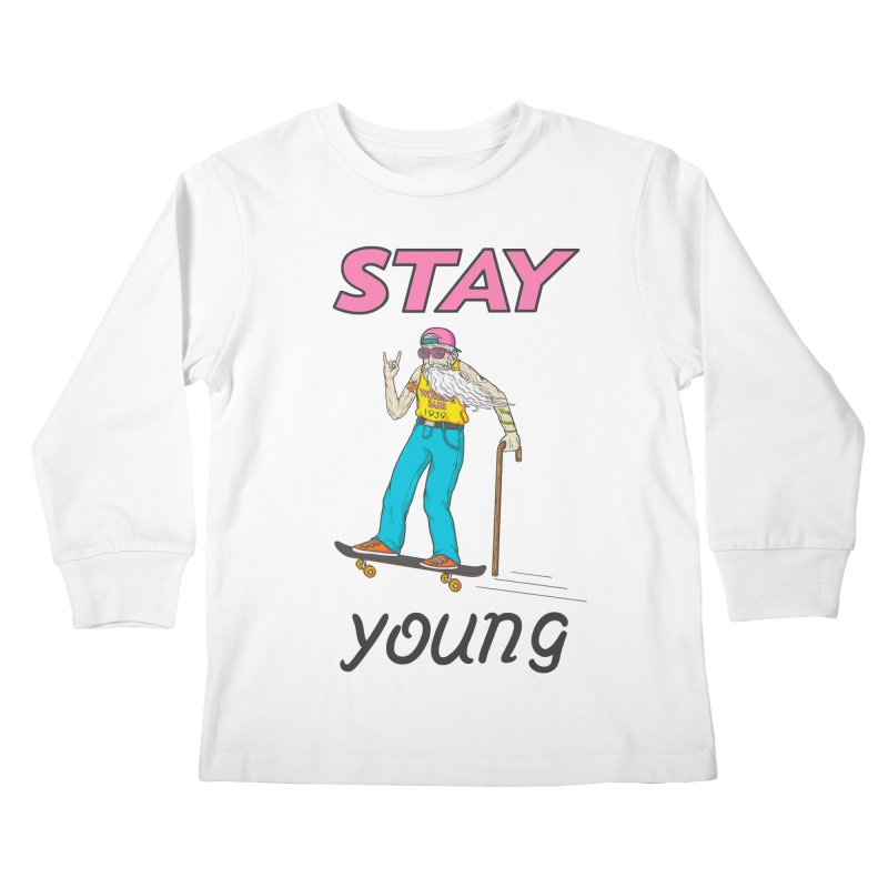 Always Board Kids Longsleeve T-Shirt by spookylili