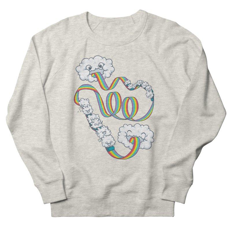 Rainbow Coaster Men's Sweatshirt by spookylili