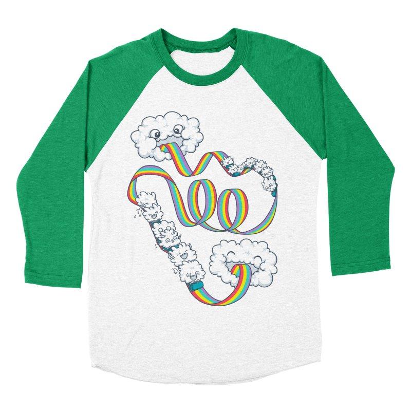 Rainbow Coaster Women's Baseball Triblend T-Shirt by spookylili