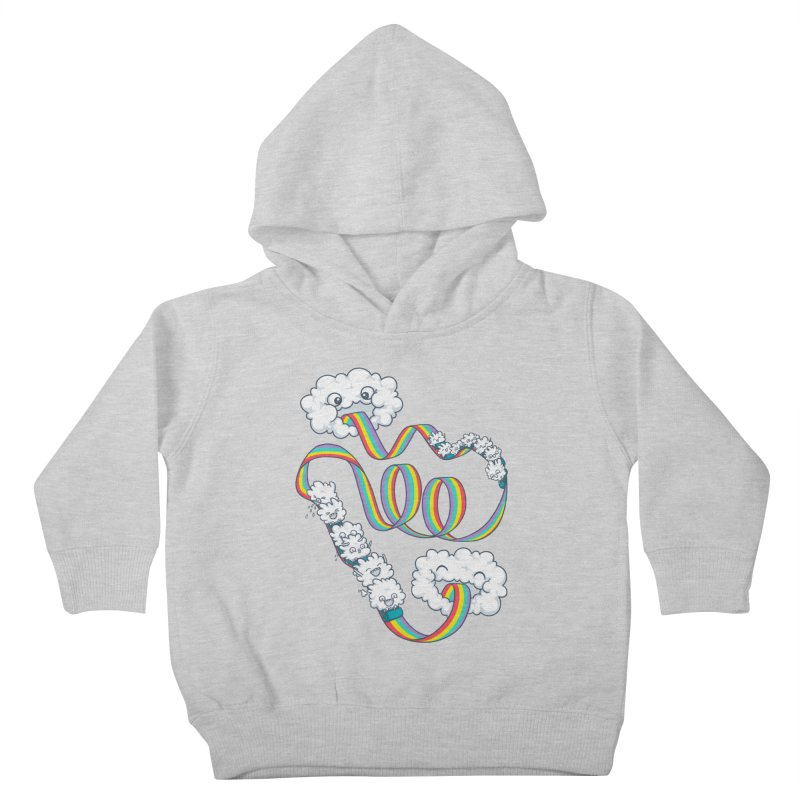 Rainbow Coaster Kids Toddler Pullover Hoody by spookylili