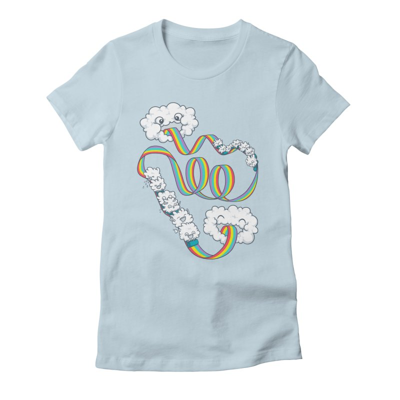 Rainbow Coaster Women's T-Shirt by spookylili