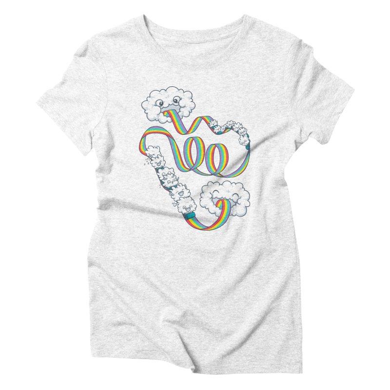 Rainbow Coaster Women's Triblend T-shirt by spookylili
