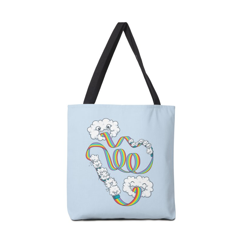 Rainbow Coaster Accessories Tote Bag Bag by spookylili
