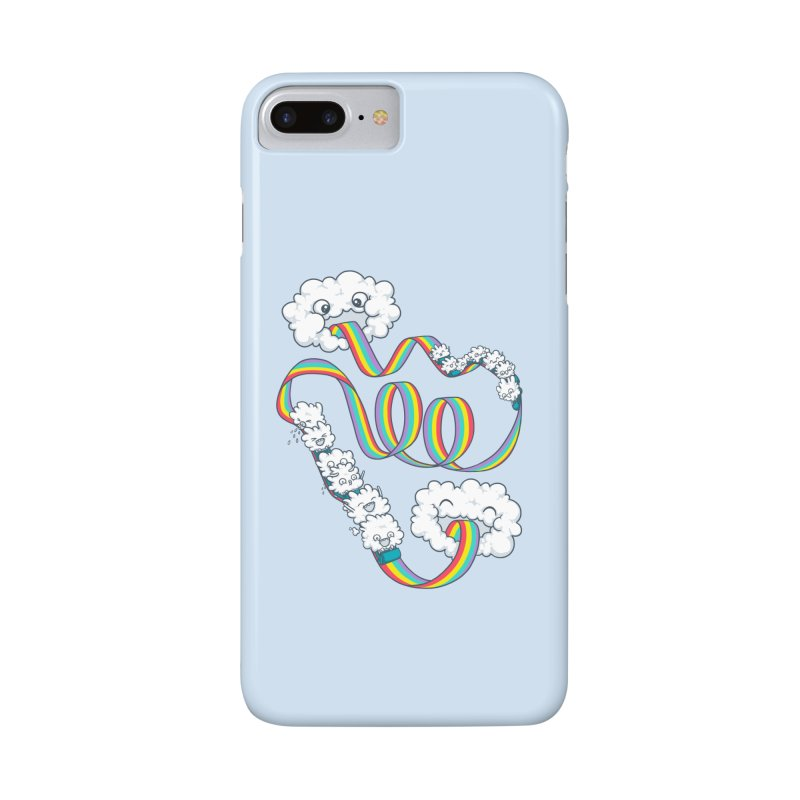 Rainbow Coaster Accessories Phone Case by spookylili